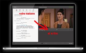 Écrire le script d'une histoire et elle se transforme en film vidéo | | chadley | Scoop.it