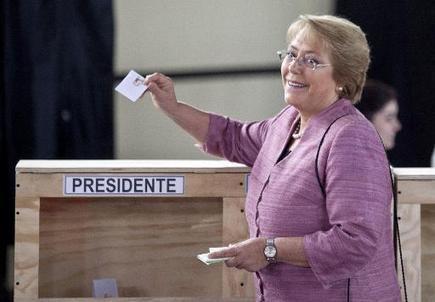 Chili: Michelle Bachelet appelle de ses voeux une victoire au 1er tour - RTL.be   francisco-Muzard-Chili   Scoop.it