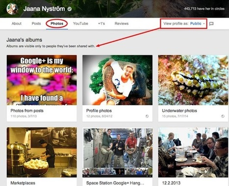 GooglePlus Helper: Photos and videos in profile tabs - Google+ update | GooglePlus Expertise | Scoop.it