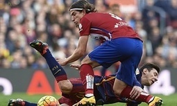 Filipe Luís suspended for three games for dangerous foul on Lionel Messi - The Guardian | AC Affairs | Scoop.it