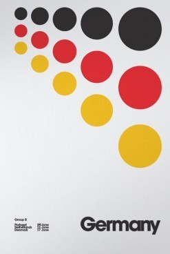 Euro 2012 Posters by David Watson | timms brand design | Scoop.it