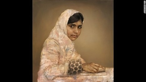 Malala Yousafzai: Portrait of education activist put on display - CNN   education   Scoop.it