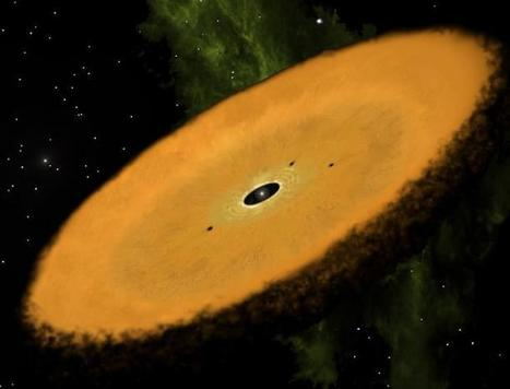 Found: Oldest known planet-forming disk | Fragments of Science | Scoop.it