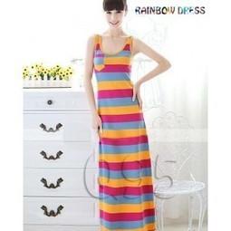 rainbow dress | Baju Korea 2013 | Scoop.it