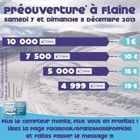 Le Grand Massif lance une chasse aux likes Facebook   Stations de ski en Haute-Savoie   Scoop.it