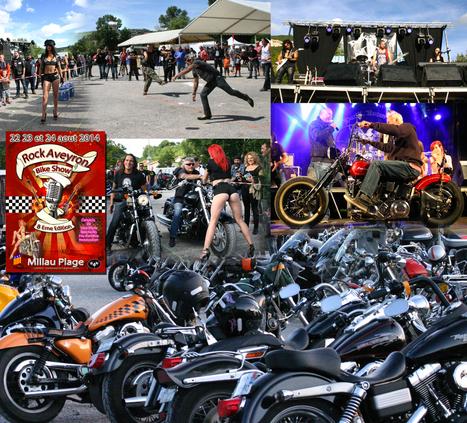 Des bikers et du « gros son » au 8e Rock Aveyron Bike Show   Encadrement de balade, vie de la Fédé   Scoop.it