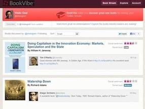 BookVibe: recibe recomendaciones bibliográficas de tus amigos de twitter | Web y Herramientas Sociales | Scoop.it