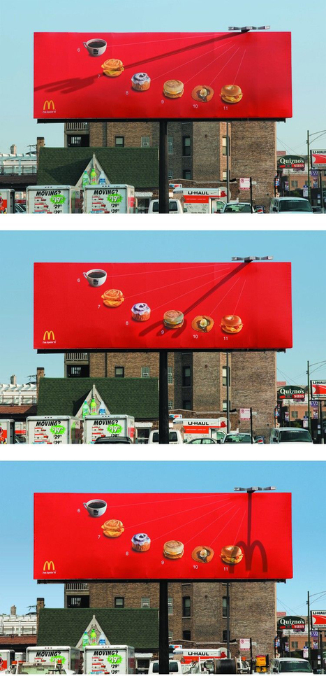 McDonalds Sundial Billboard | Psychology of Consumer Behaviour | Scoop.it