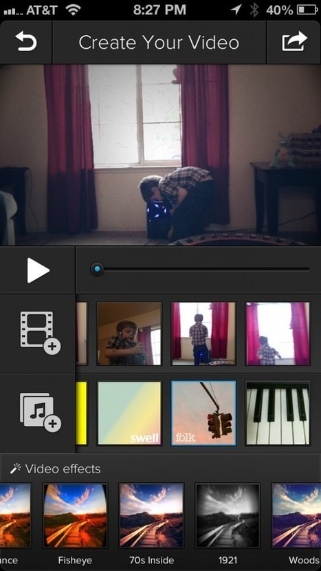 Turn Three Second Videos Into An Awesome Montage With Clipper – Video Editor | iPads in education | Scoop.it