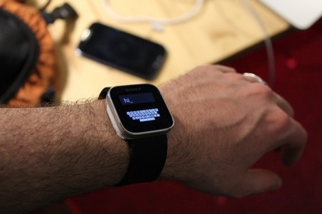 Researchers Figure Out How You Can Type on a Smartwatch | Interesting News | Scoop.it
