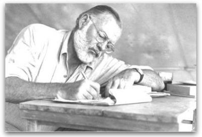 Ernest Hemingway's 5 secrets to good blogging | Articles | Main | Gaining website traffic or attention through social media sites | Scoop.it