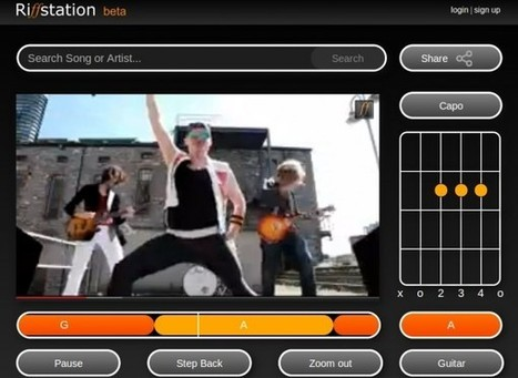 riffstation, aplicación que calcula los acordes de cualquier canción de YouTube | Herramientas TIC para el aula | Scoop.it
