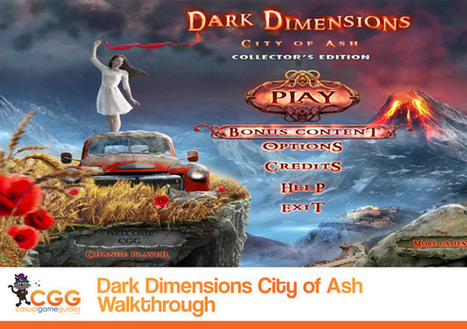 Dark Dimensions: City of Ash Walkthrough: From CasualGameGuides.com | Casual Game Walkthroughs | Scoop.it