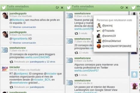 Hootsuite muestra ahora quién ha hecho RT de nuestros tweets | AgenciaTAV - Asistencia Virtual | Scoop.it