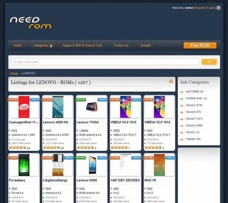Que la ROM de tu móvil no te martirice: Por dónde comenzar para cambiarla con éxito - Blog de Lenovo | Educacion, ecologia y TIC | Scoop.it