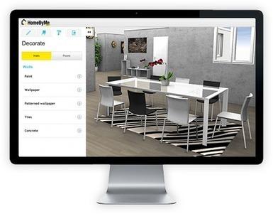 HomeByMe - Logiciel gratuit de plan 3D pour dessiner, décorer votre maison 3D | Multimédia et informatique | Scoop.it