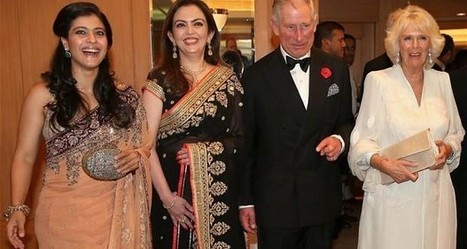 Kajol And Ajay With Prince Charles And Camilla At A Reception For The British Asian Trust | Bollywood Eye | Bollywood News | Scoop.it