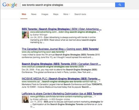 Give Your SEO Efforts a Boost with Google Authorship | Marketing Tips | Scoop.it