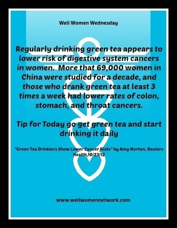 Lower Your Cancer Risk by Doing This..... - Well Women Network   Womens Health and Wellness   Scoop.it