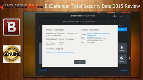 Télécharger Bitdefender Total Security 2015 | Télécharger Bitdefender Total Security 2015 | Scoop.it