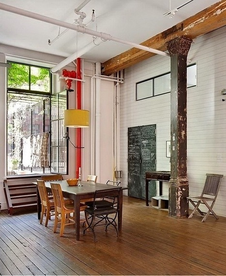 Shabby Chic in Tribeca / Loftenberg | Raw and Real Interior Design | Scoop.it
