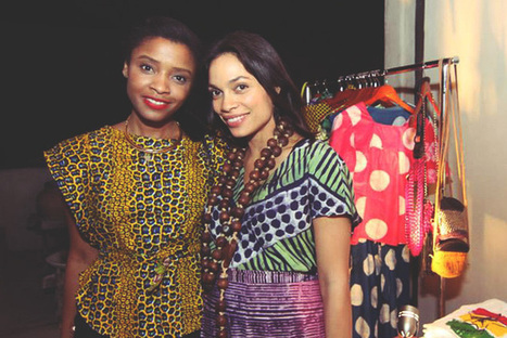 Africa's Set to Become a Fashion Powerhouse, and Rosario Dawson Is Helping ... - TakePart | Global South Africans | Scoop.it