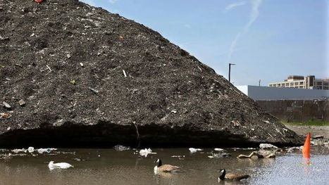 Snow piles linger in Boston, including one that's 3 stories high and filled with trash | News You Can Use - NO PINKSLIME | Scoop.it