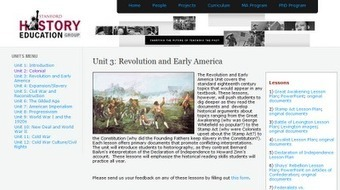 US History Teachers Blog: 75 Primary Document Lessons | Lessons for the Classroom | Scoop.it