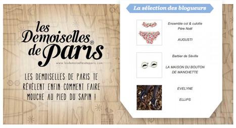 [blog] Les Demoiselles de Paris - Le Collectif de Noël | Collectif de Noël | Scoop.it