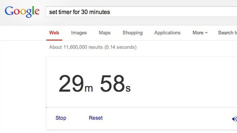 Google's Timer Returns   Teacher-Librarian   Scoop.it