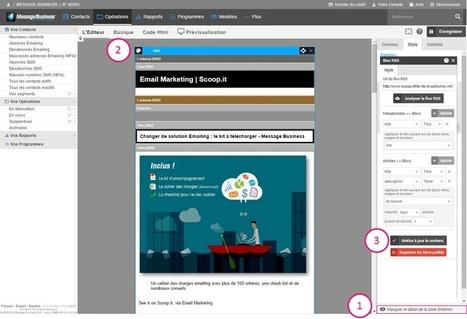 5 Idées d'Emailing à partir de Flux RSS - Message Business | Email Marketing | Scoop.it