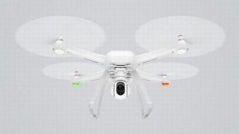 Xiaomi lève le voile sur son drone doté d'une caméra 4K à 400 euros | geeko | Drone | Scoop.it