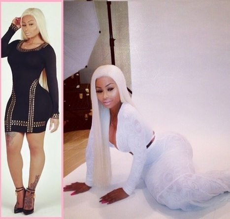 Blac Chyna REVEALS Secret To Curvacious Body, Shares Before/After Pics + Tips! | U.B. (Unsignedblast) Model, Fashion,Photography | Scoop.it