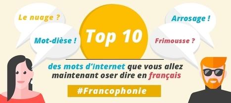 Top 10 des mots d'internet que vous allez oser dire en français   J'aime le français. Et vous ?   Scoop.it