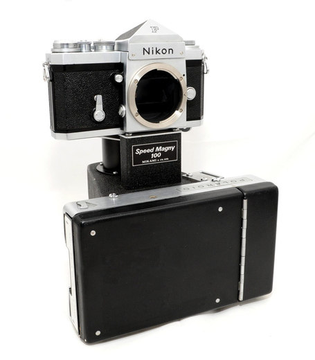 "Speed Magny: ""The Instant Nikon F camera"" 