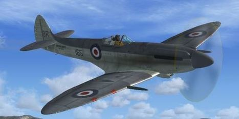 FSX/FS2004 – Seafire MkXVII | PerfectFlight | Scoop.it