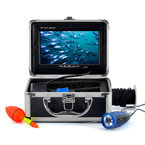 Underwater Fishing Camera with 7 Inch Color Monitor (15m Cable, 600TVL, Night Vision) | cool electronics gadgets | Scoop.it