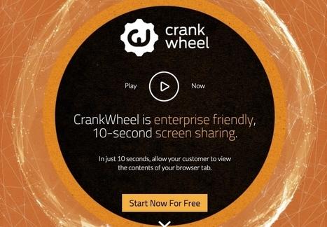 Crank Wheel. Partager son écran facilement - Les Outils Collaboratifs | veille numérique et pédagogique | Scoop.it