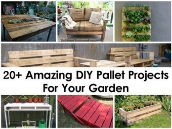 20+ Amazing DIY Pallet Projects For Your Garden - Home Tips World | Home | Scoop.it