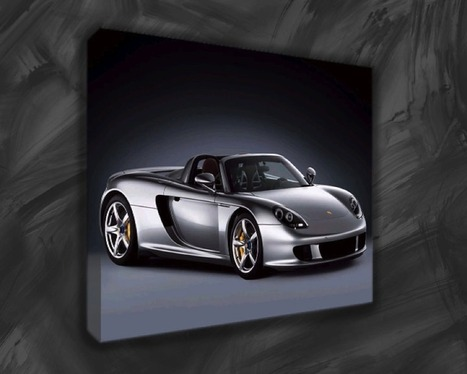 Make Your Home Looks Fantastic With Cars Canvas Art Prints | Canvas art | Scoop.it