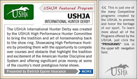 USHJA | Horses and Riding | Scoop.it