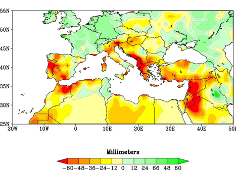 Climate: Study sees global warming fingerprint on long-running drought in Mediterranean region   GarryRogers Biosphere News   Scoop.it