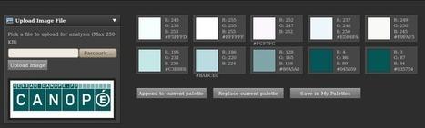 Color Explorer : générer une palette de couleurs à partir d'une image | Appropriation | Scoop.it