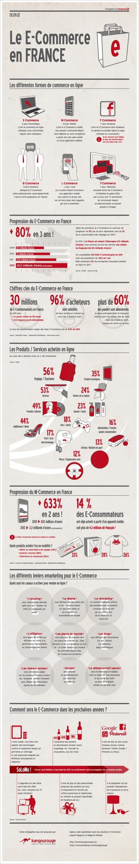 [Infographie] Le e-Commerce en France - Websourcing.fr | E-Commerce & Conversion | Scoop.it
