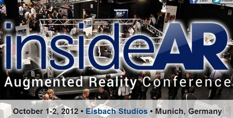 InsideAR Augmented Reality Conference: Munich, Oct 1-2 - Ubergizmo | Cool Augmented Reality | Scoop.it