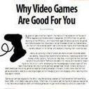 Free downloadable guide now available: Why Video Games are Good For You | ADP Center for Teacher Preparation & Learning Technologies | Scoop.it