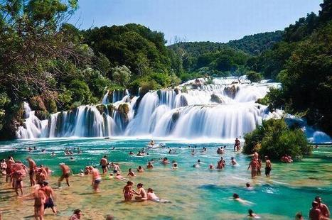 "Twitter / Earth_Pics: Natural pool ""Skradinski Buk"", ... 