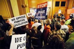 'Right to Work' Advances in Indiana over Protests | Labor and Employee Relations | Scoop.it