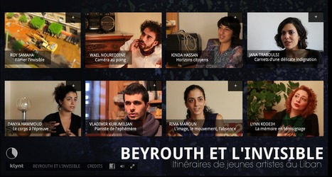 Beyrouth Invisible | Interactive & Immersive Journalism | Scoop.it