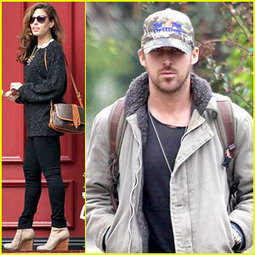 Ryan Gosling & Eva Mendes Visit Friends Separately | QUEERWORLD! | Scoop.it